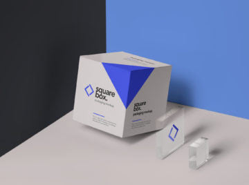 Psd Packaging Box Mockup Set